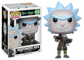 Figura Funko POP! Rick and Morty - Weaponized Rick