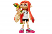Figura Inkling Girl Super Mário