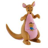 Figura Kanga e Ru Winnie The Pooh