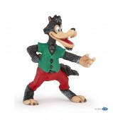 Figura Lobo Mau - Capuchinho Vermelho Papo