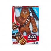 Figura Mega Mighties Galactic Heoes Chewbacca Star Wars 25cm