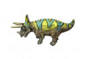 Figura Mini Dinossauro Triceratops