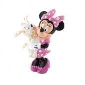 Figura Minnie com Cão