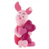 Figura Piglet Corações Ursinho Pooh