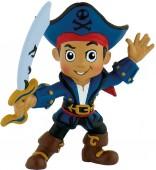 Figura Pirata Jake Capitão 7cm - D