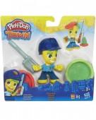 Figura Polícia Play Doh