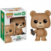Figura Pop em vinil -Ted 2 -Ted controlo remoto