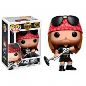 Figura POP Vinil -  Axl Rose Rocks Guns Roses
