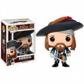 Figura POP Vinil - Capitão Barbosa dos Piratas das Caraíbas