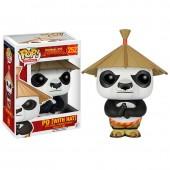 Figura POP Vinil - Po com chapéu Kung Fu Panda