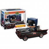 Figura POP Vinyl Batman y Batmovil DC Comics