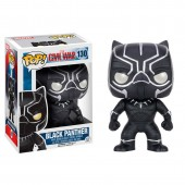 Figura POP Vinyl Capitão America Civil War Black Panther