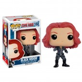 Figura POP Vinyl  Civil War Black Widow