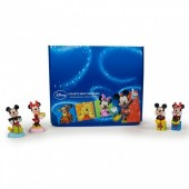 Figura Resina Disney Mickey e Minnie