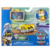 Figura Rubble Mission Paw Patrulha Pata