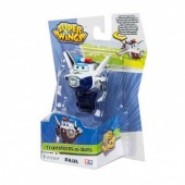 Figura Super Wings Transform a Bots - modelo Paul