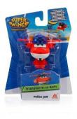 Figura Super Wings Transform a Bots - modelo Police Jett