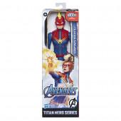Figura Titan Avengers Captain Marvel