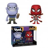 Figuras Funko POP! Avengers Infinity War - Thanos & Iron Spider