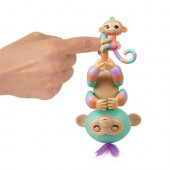 Fingerlings Danny (verde) - Macaquinho e Mini Mascote (Gianna)