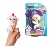 Fingerlings Sophie (branco) - Macacos Interactivos