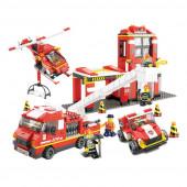 Fire Alarm Combate Incêndio 745 peças Sluban