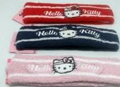 Fitas cabelo em turco Hello Kitty - 3 unidades