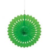 Flor de Papel Decorativa Verde Lima 40cm