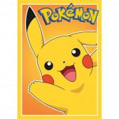 Folha de Açúcar A4 Bolo Pikachu