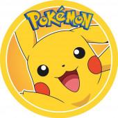 Folha de Açúcar Bolo Pikachu