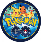 Folha de Açúcar Bolo Pokémon GO