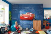 Fotomural Disney Cars 3 Blueprint