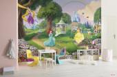 Fotomural Disney Princesas Rainbow