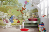 Fotomural Disney Winnie Pooh Ballooning