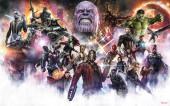 Fotomural TNT Avengers Infinity War - Final Round