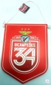 Galhardete Bicampeão Benfica SLB