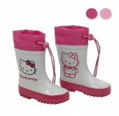 Galochas Hello Kitty Cara - sortido