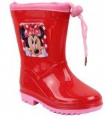 Galochas PVC Minnie Mouse Rosa