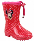 Galochas PVC Minnie Mouse Vermelha