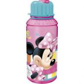 Garrafa água Disney Minnie c/ palhinha