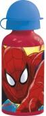 Garrafa Aluminio Spiderman - Red Webs