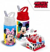 Garrafa de Alumínio  sortido Mickey e Minnie Disney 500ml