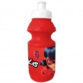 Garrafa plástica Ladybug e Tikki