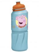 Garrafa Plástico Porquinha Peppa 530ml