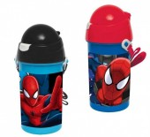 Garrafa Pop Up Marvel Spiderman sortida