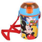 Garrafa Pop Up Mickey Cool Summer 450ml