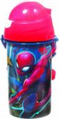 Garrafa Pop Up Spiderman - 500ml