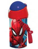 Garrafa Pop Up Spiderman Marvel 500ml
