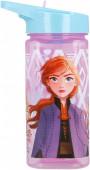Garrafa Tritan Quadrada Frozen 2 Disney 530ml
