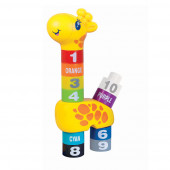 Girafa Blocos Aprendizagem Happy Kid 12+